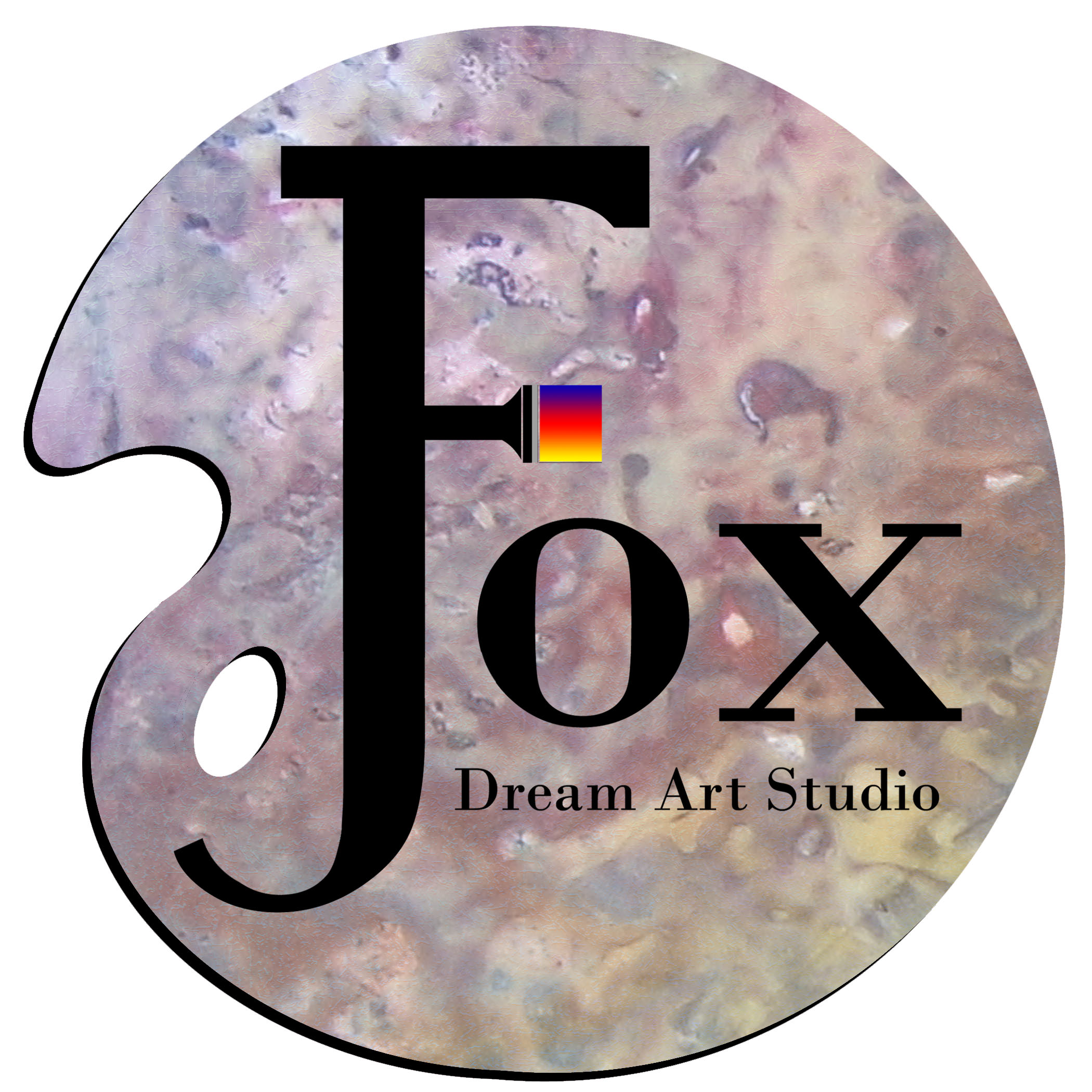 Logo for J Fox Dream Art Studio